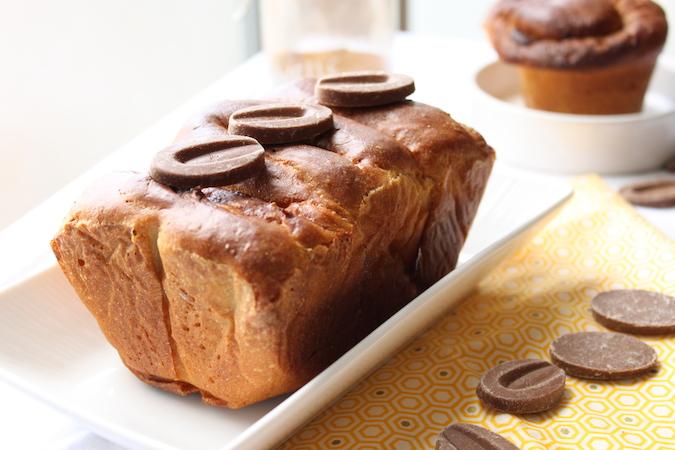 Brioche chocolat caramelia cannelle