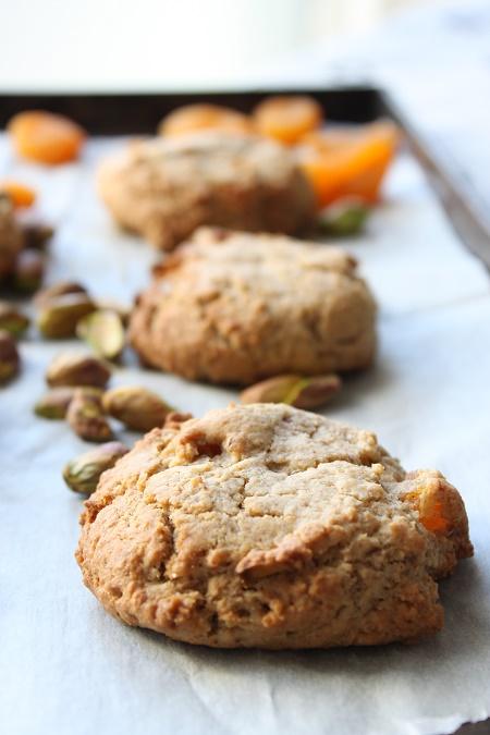 Cookies abricot pistache