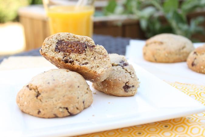 Cookies fourrés pâte de figues