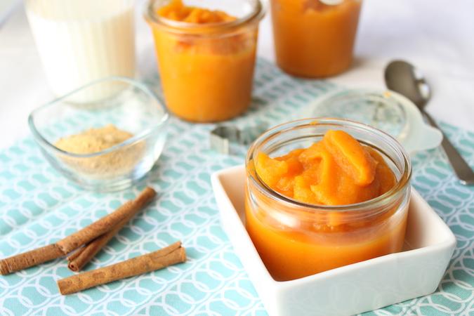 Compote de pomme carotte cannelle