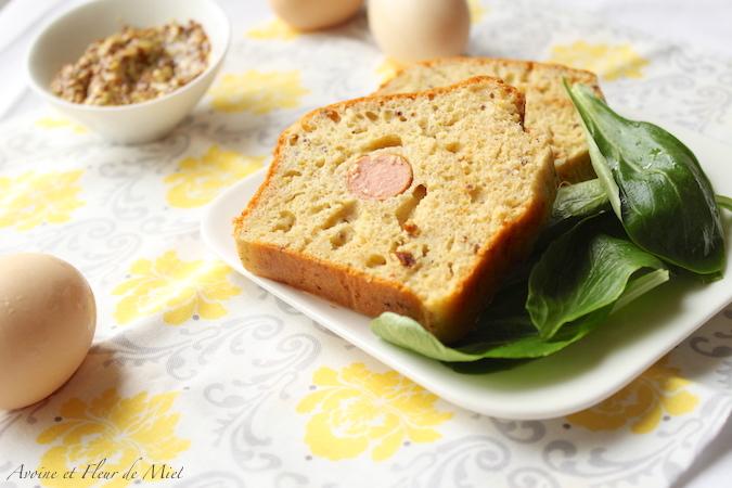 Cake salé knackis