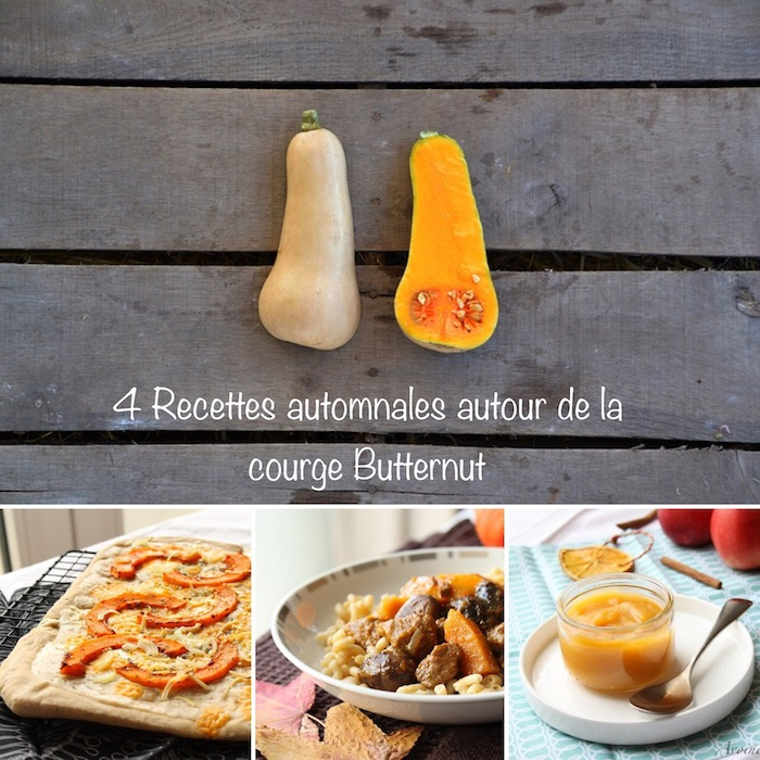 La courge Butternut